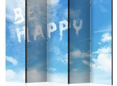 Paraván - Be happy II [Room Dividers]